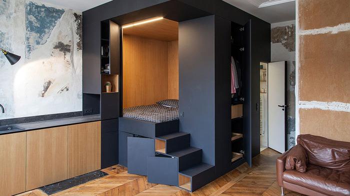 tạo không gian đặc biệt cho thiết kế nội thất chung cư